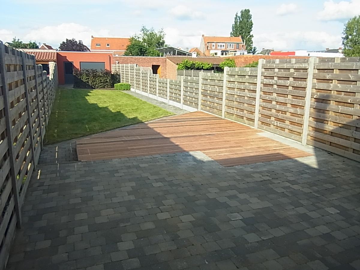 Aanleg terras offerte terras tc projects kapellen - Buiten terrassen ...